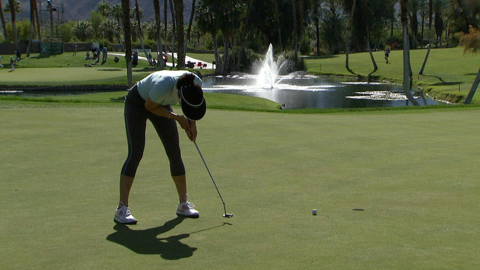 Michelle Wie Table-Top Putting Style | Golf Channel