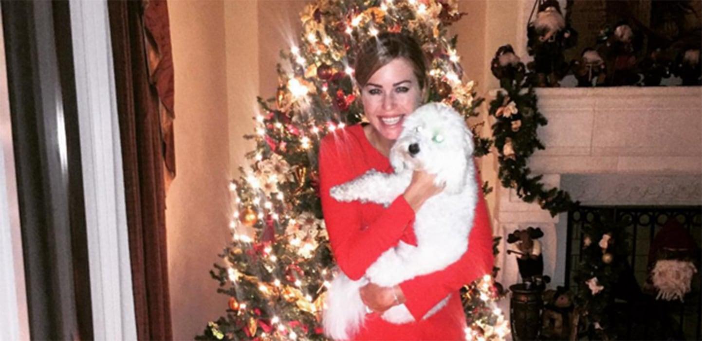 Photo of Natalie Gulbis & her Dog Paula