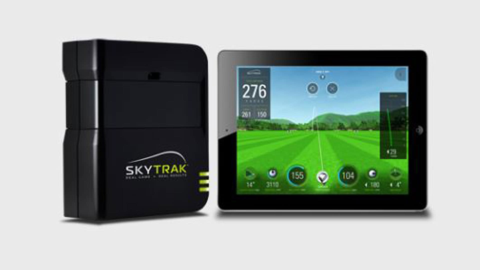 skytrak  personal launch monitor  simulator