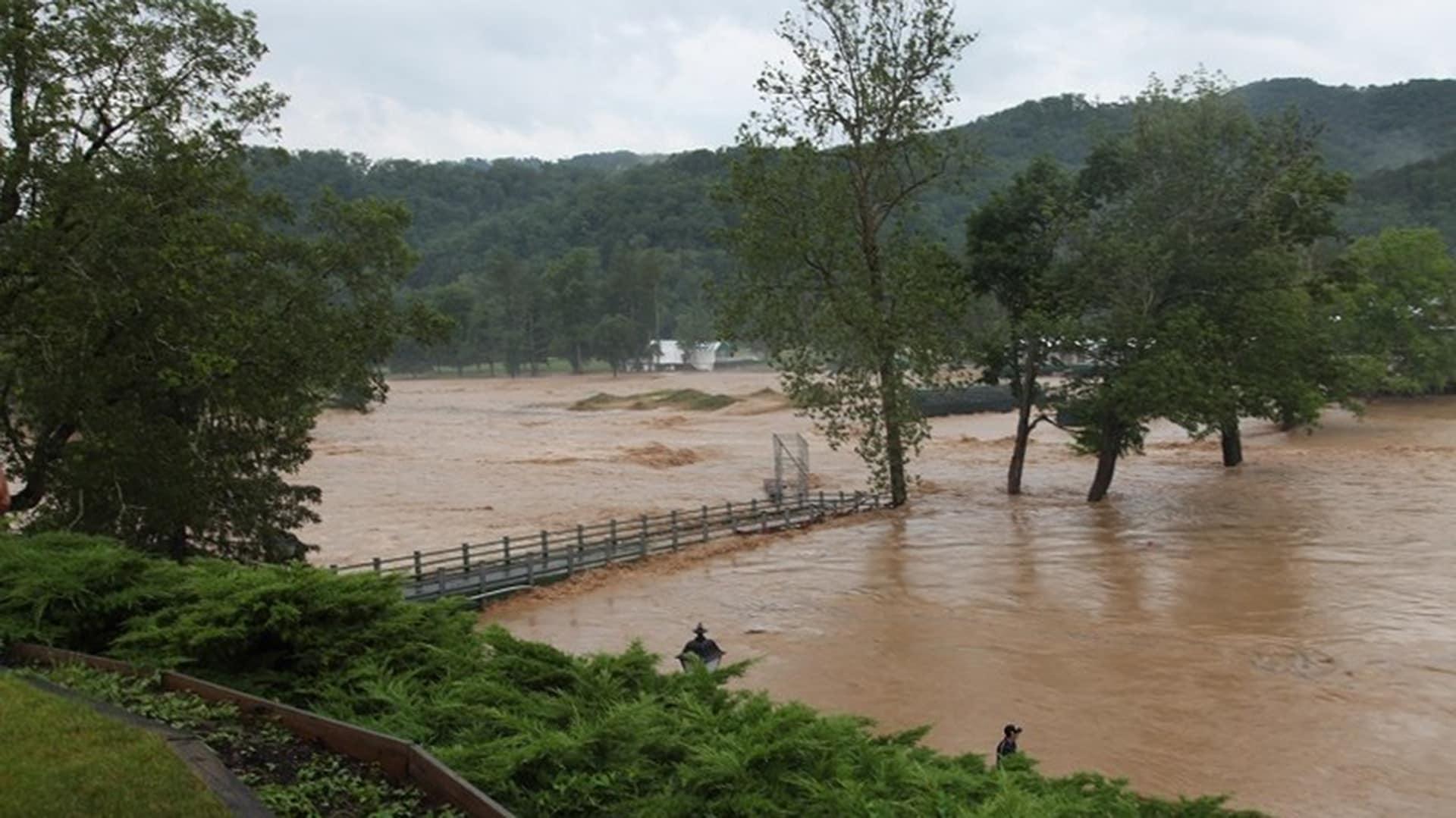 Pga Tour Official Details Floods In West Virginia Golf