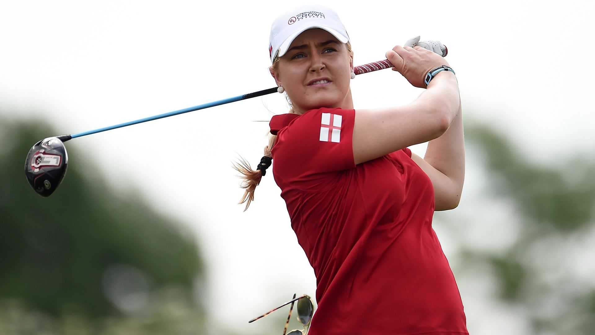Charley Hull Sick Unable To Start Match Against Japan On