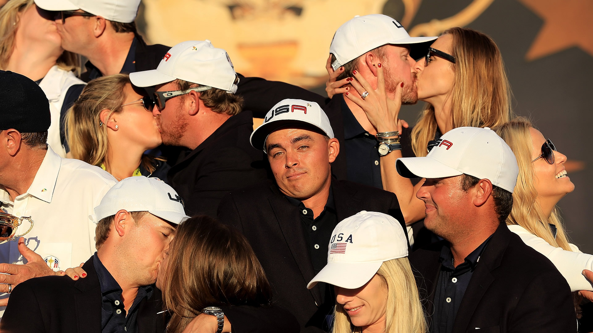 Poor Rickie -- no kiss!