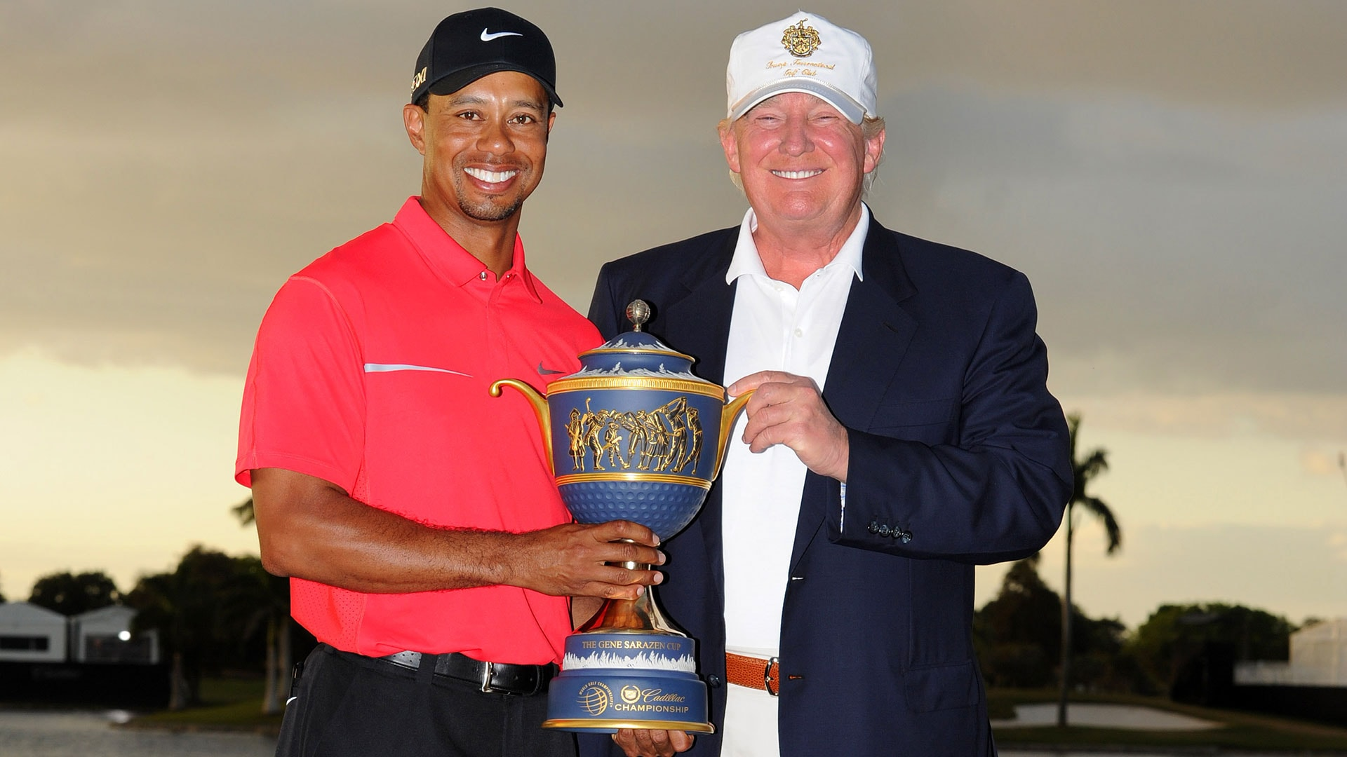 tiger woods  donald trump to play golf friday