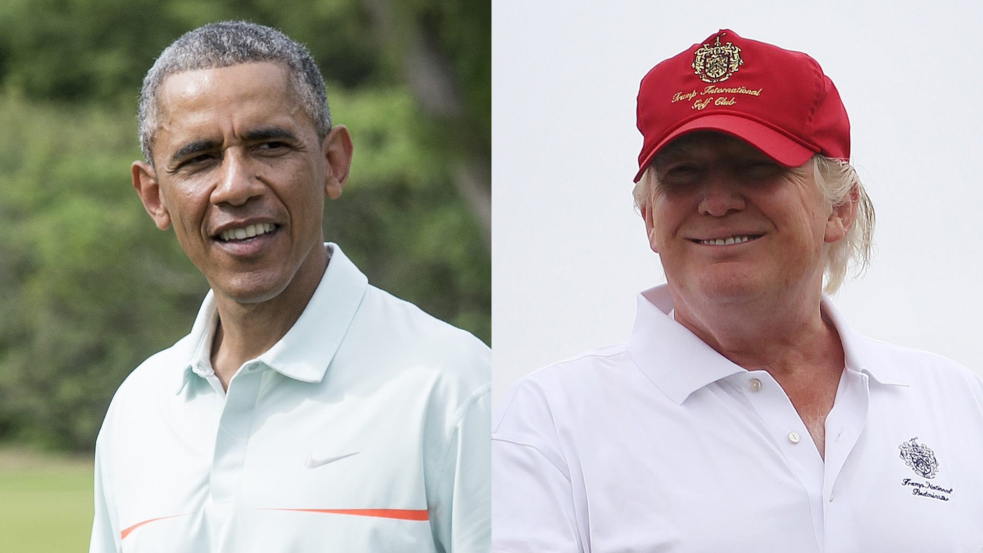 Barack Obama, Donald Trump Get in Year-End Golf Round (Separately)