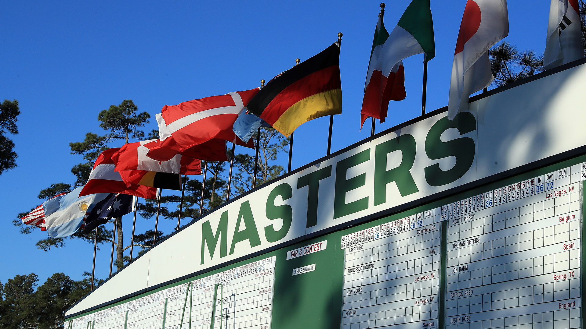 masters 2017  full tee times for rounds 1  2