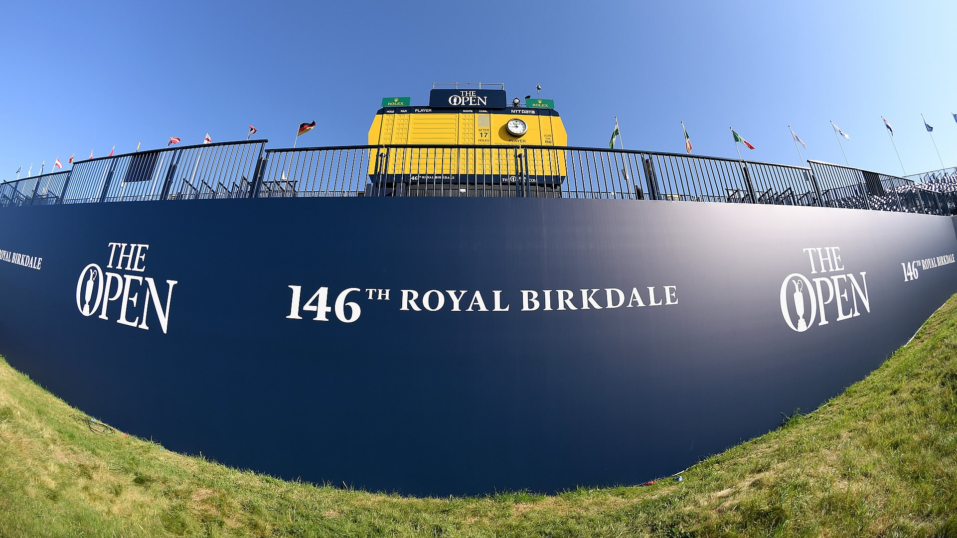 2017 british open tee times  first and second rounds