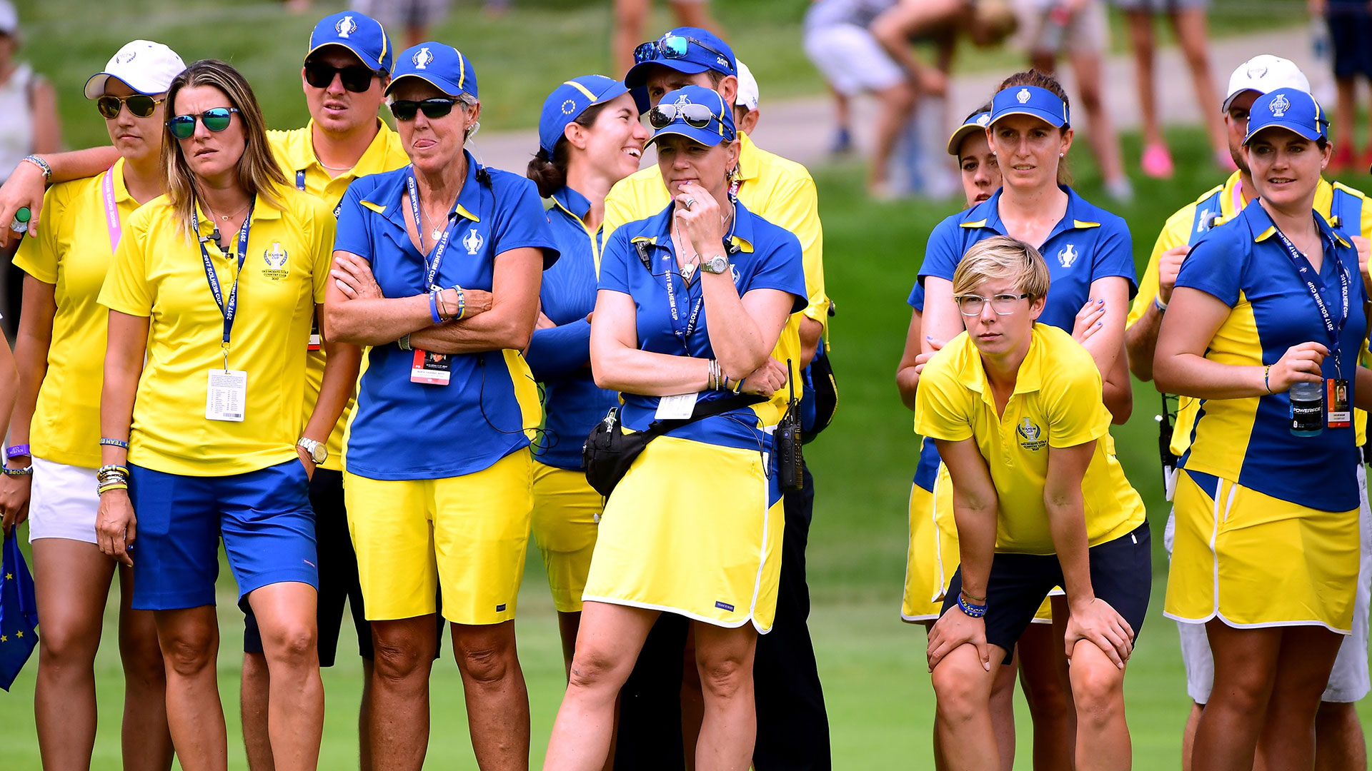 report cards  2017 european solheim cup team