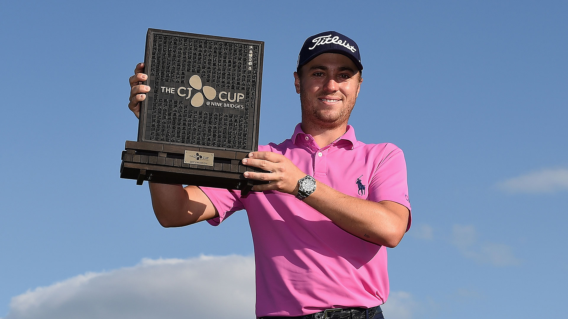 Justin Thomas tops Marc Leishman in CJ Cup playoff