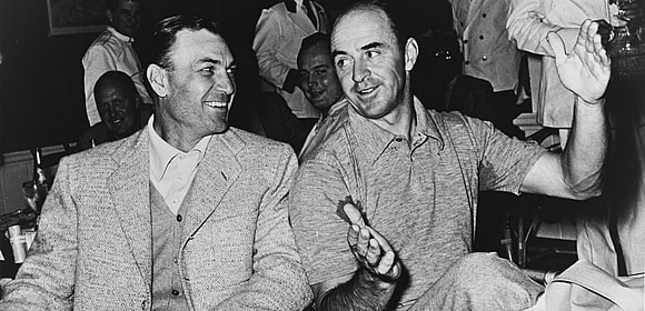 Sam Snead and Ben Hogan