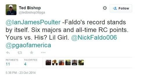 Tedd Bishop lil girl tweet