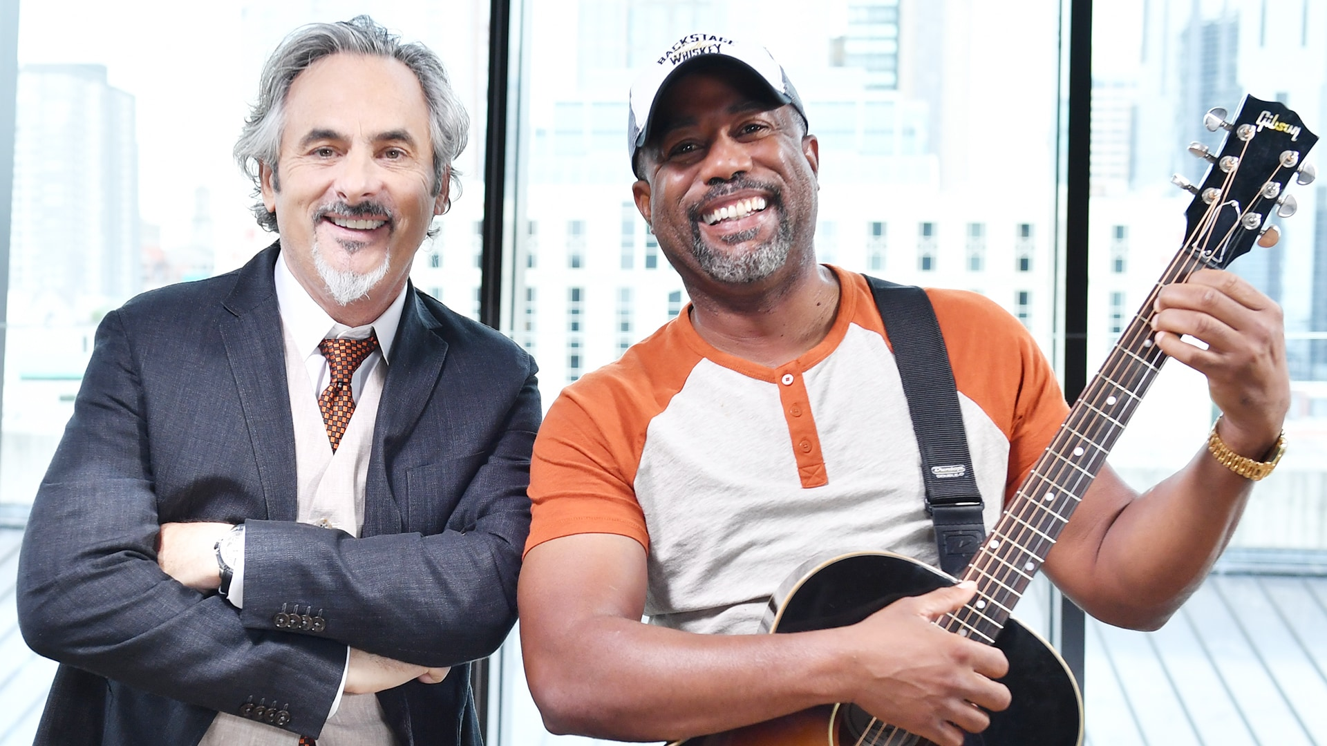 Darius rucker interview with david feherty monday 828 9pm et during the interview darius rucker tells feherty how he squeezes golf into his busy schedule while on tour watch the preview below m4hsunfo