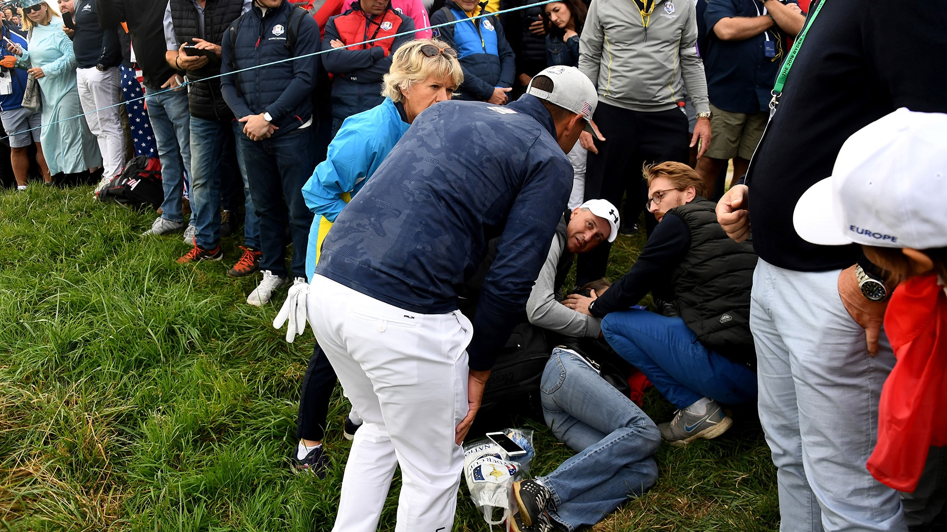 Brooks Koepka feared he might have blinded spectator