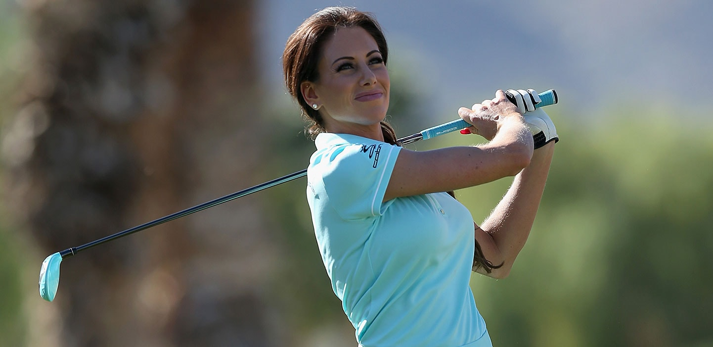 Holly sonders golf channel nude