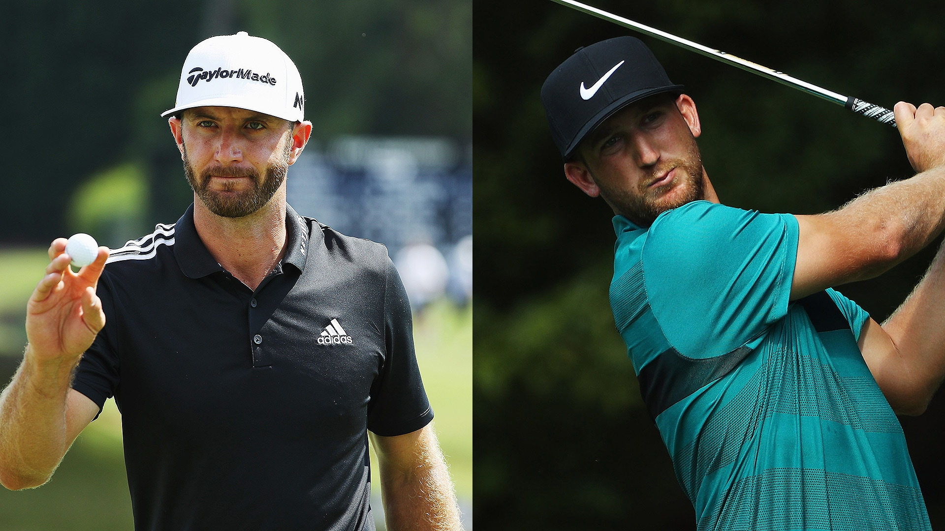 Dustin Johnson Kevin Chappell Tied At East Lake Rory