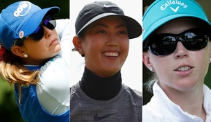 Paula Creamer, Michelle Wie and Morgan Pressel