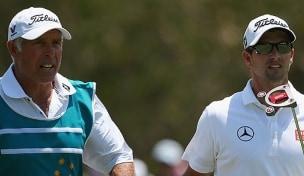 Illustrious PGA caddy on the verge of retirement ...  Scott_aussiepga13_d4_williams_610_0