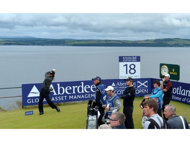 Scottish golf open inverness 2012