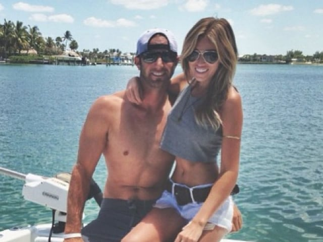 Paulina gretzky dustin johnson instagram