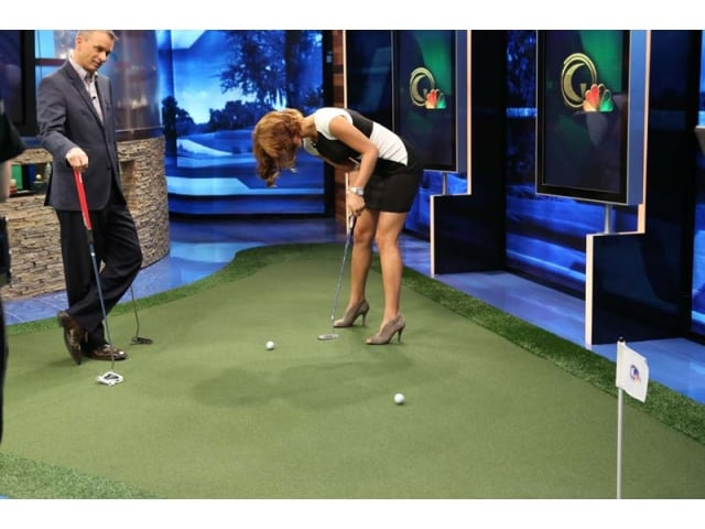 Michelle Wie Putting Michelle wie