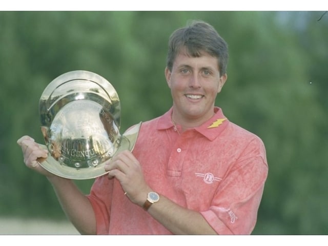 Image result for young phil mickelson