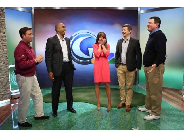 Cara Robinson Golf Channel >> New Morning Drive Set Photo Gallery | Golf Channel