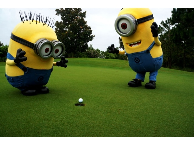 Despicable Me 2 Minions Golfing Minion Golf Channel