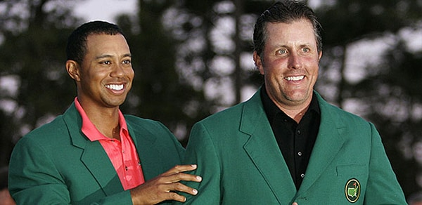 2014 Masters: Tiger Woods Phil Mickelson Rivalry Hasn't ...