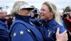 Laura Davies and Suzann Pettersen