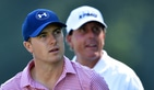 Jordan Spieth and Phil Mickelson
