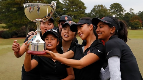 USC women's golf team