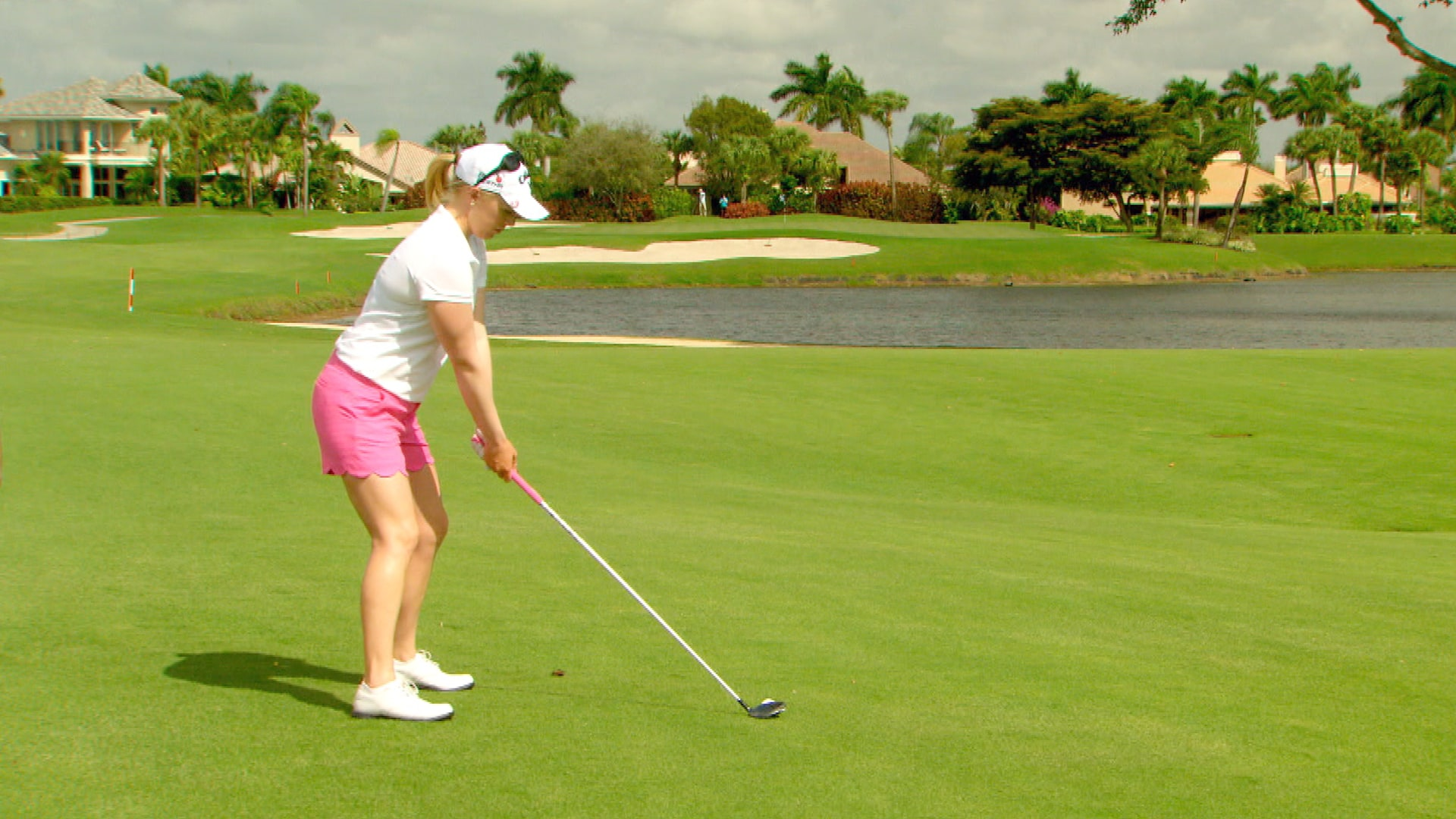 Try to Hit it Low to Avoid Fat and Thin Shots