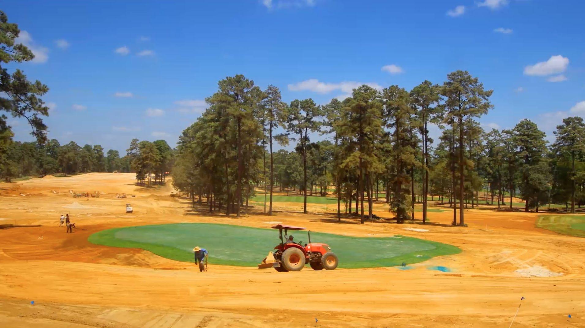 Bluejack national 18th hole timelapse golf channel for Bluejack national