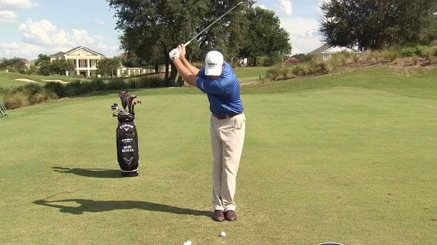golf swing tips and drills  feet together drill