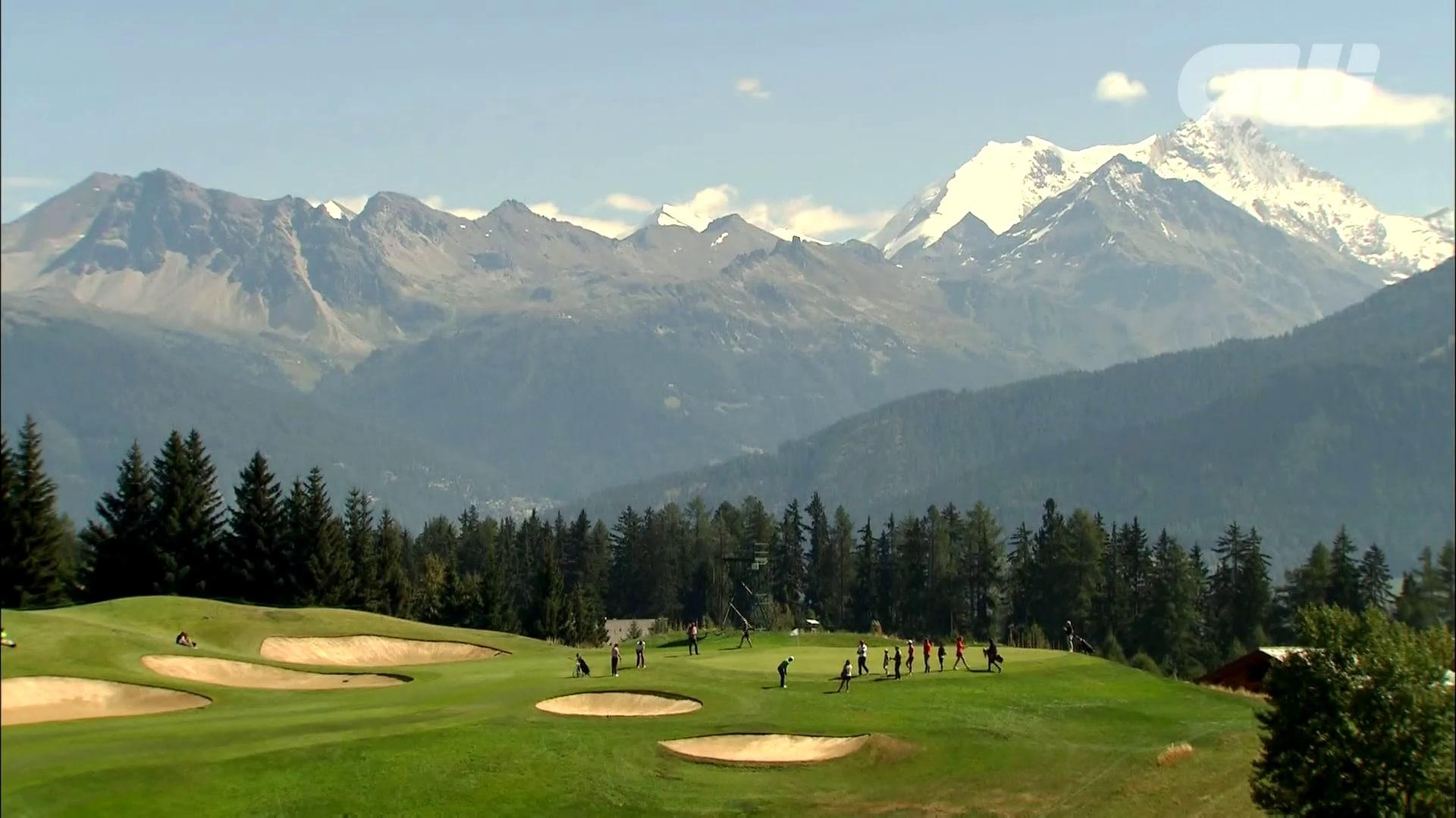 golfing world  crans