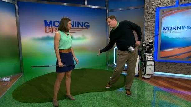 Cara Robinson Golf Channel >> How to Control Foot Spins on Tee Shots | Golf Channel