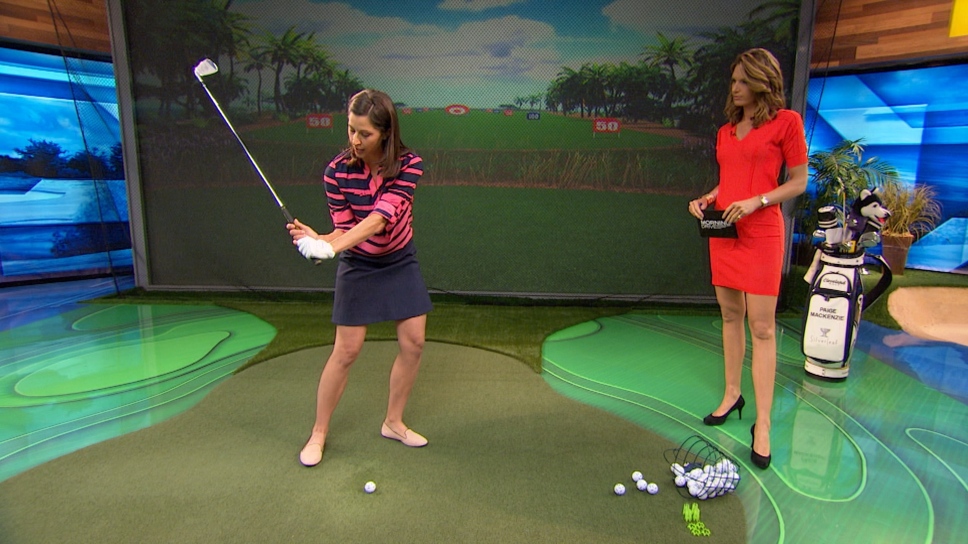 Paige Mackenzie gives swing lag drill for more distance ...