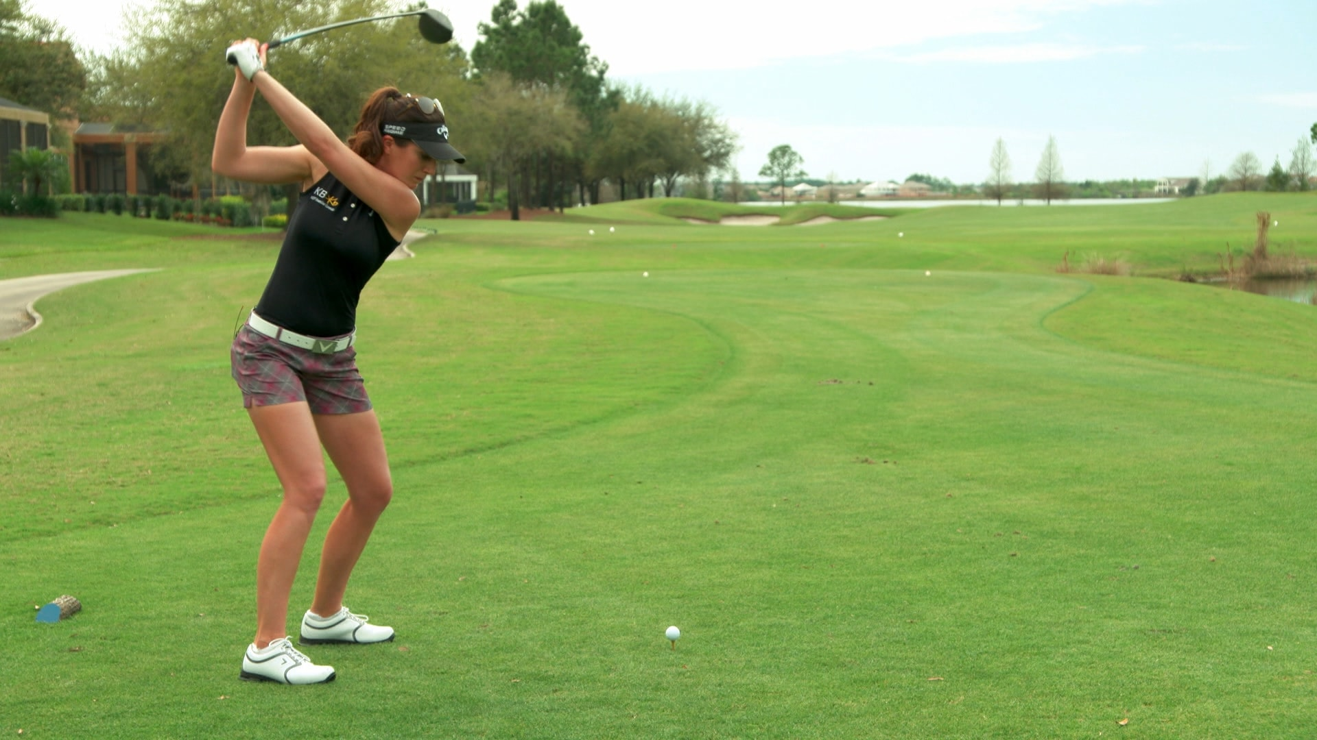 Playing Lessons: Sandra Gal's fade tip | Golf Channel