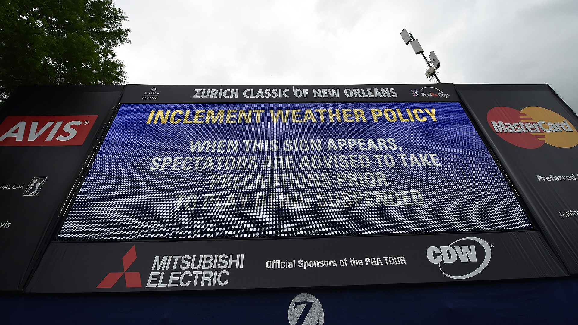 Zurich Classic Headed for Monday Finish After Another Delay